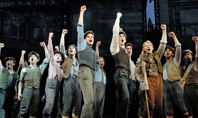 newsies ensemble