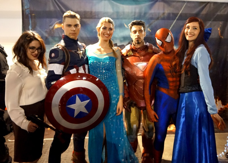 marvel e disney